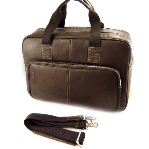 Briefcase leather 'Ted Lapidus'brown.  http://www.alltravelbag.com/briefcase-leather-ted-lapidusbrown/