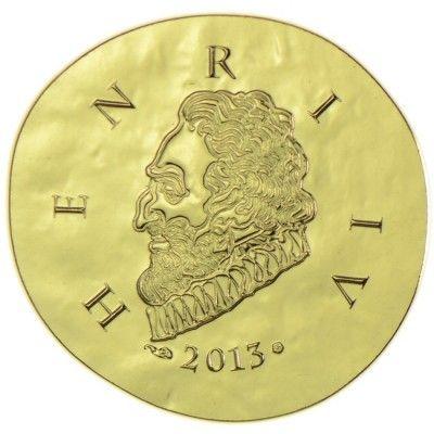50 Euro Gold Henri Iv Pp Munzsammlung Munzsammler Verschiedenes