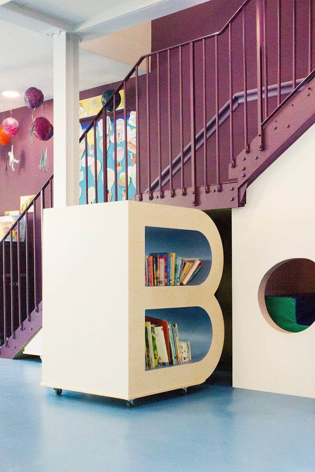 Aberrant Adds Colour And Flexibility To A British School School Interior Kindergarten Design School Design