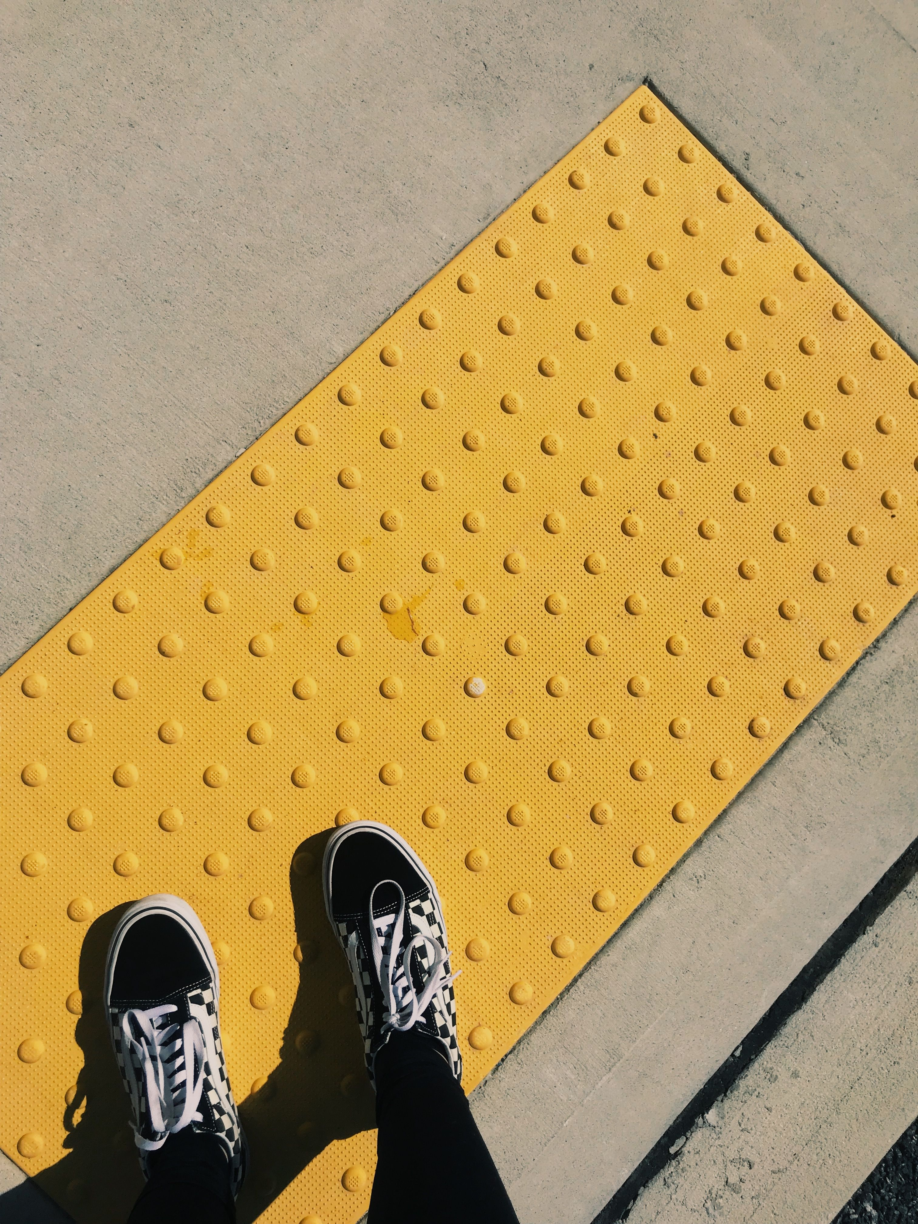 Pin Ayyeshayy Yellow Aesthetic Vans Shoes Color Grunge