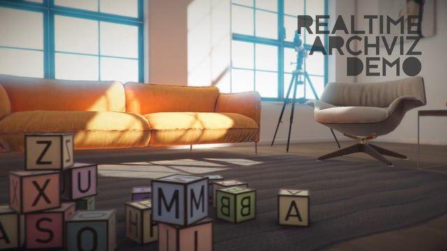 Realtime archviz tech demo created with Unity 5 Cross