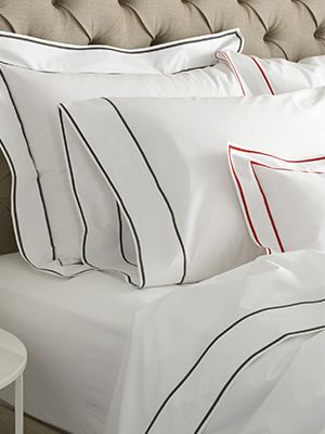 Delicieux Traditional Double Embroidered Stripe Bedding By Matouk! | See More Colors.