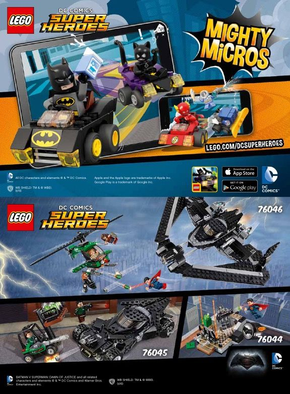 Lego Mighty Micros Batman Vs Catwoman Instructions 76061 Dc