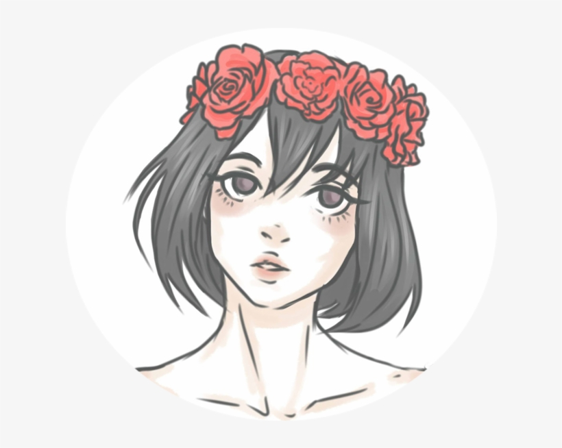 Aesthetic Flower Crown Icon Ayano On Deviantart Png