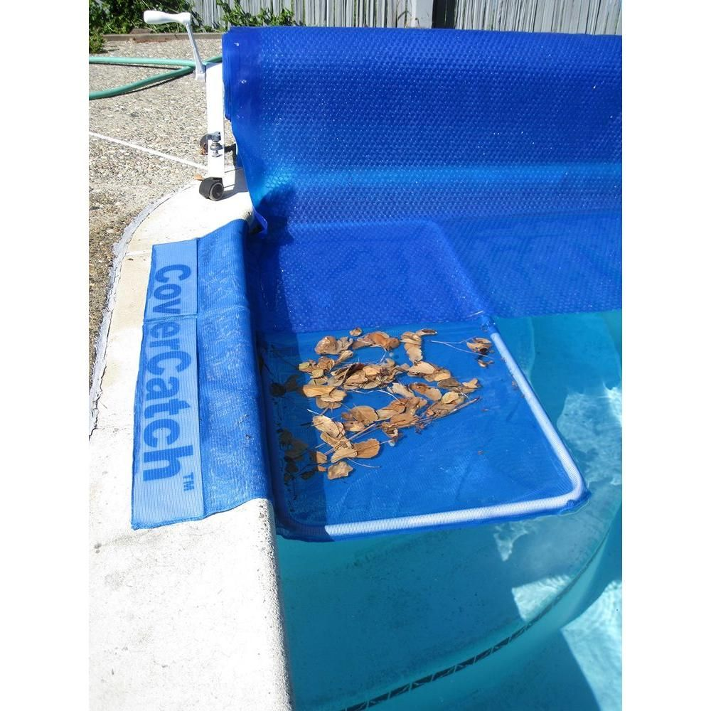 Poolmaster Swimming Pool Cover Catch For Inground Pool 29016 The Home Depot Pool Cover Pool Cover Pump Inground Pools