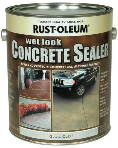 Rust Oleum Concrete Stain Wet Look Sealer At Menards