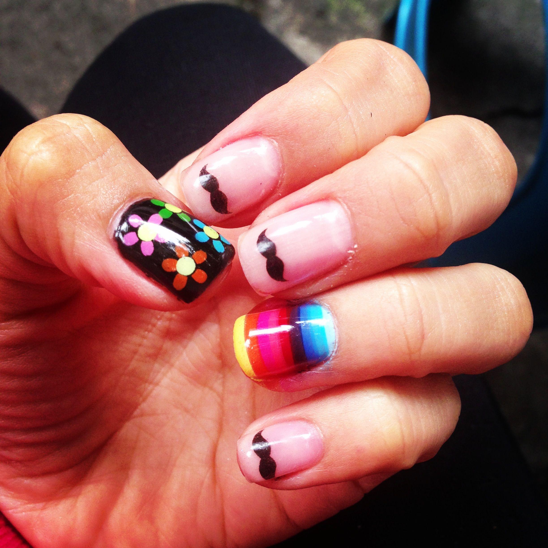 Mexican nails, Viva México   Diseños de uñas en gelis   Pinterest ...