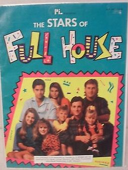 Full House Collection Nonfiction The Stars Of Full House Poster Book 1992 Kids Novels Books Book Publication