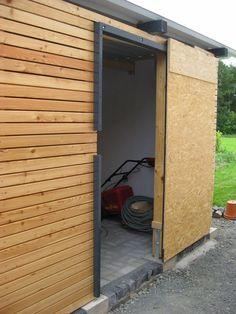 Schiebetür gartenhaus selber bauen  Marios Werkstatt: Hausprojekt: Carport / Schuppen - Teil 5 ...