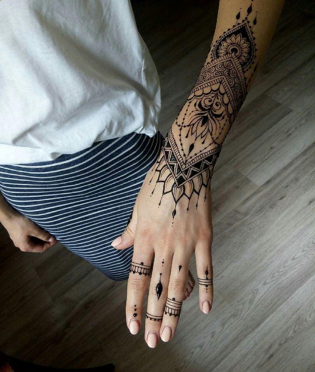 Henna Tattoo Hand Amazon: Henna Inspired Tattoos, Henna