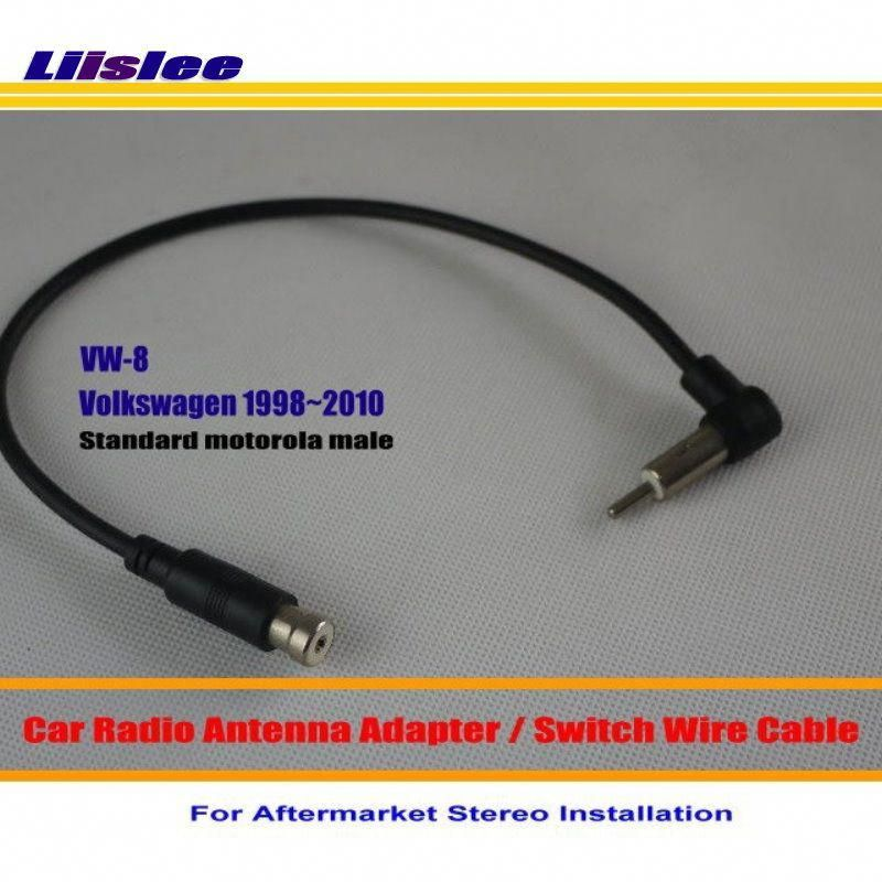 Liislee For Volkswagen Beetle Cabrio Golf Jetta Passat Car Radio Antenna Adapter Aftermarket Stereo Antenna Wire Car Radio Antenna Radio Antenna Car Radio