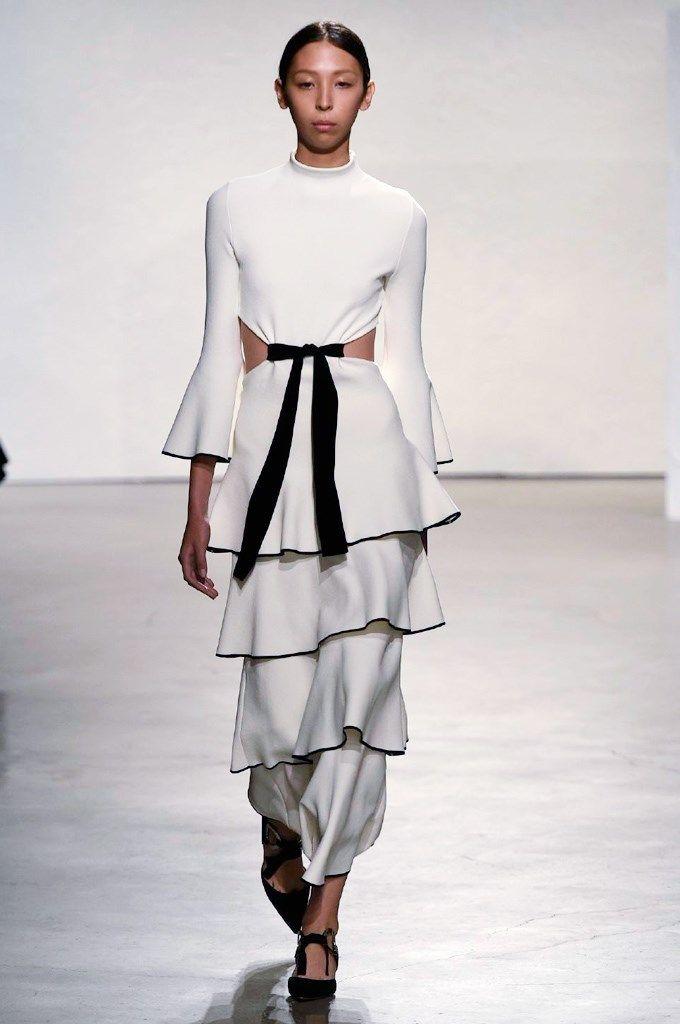Proenza Schouler En blanco y negro.