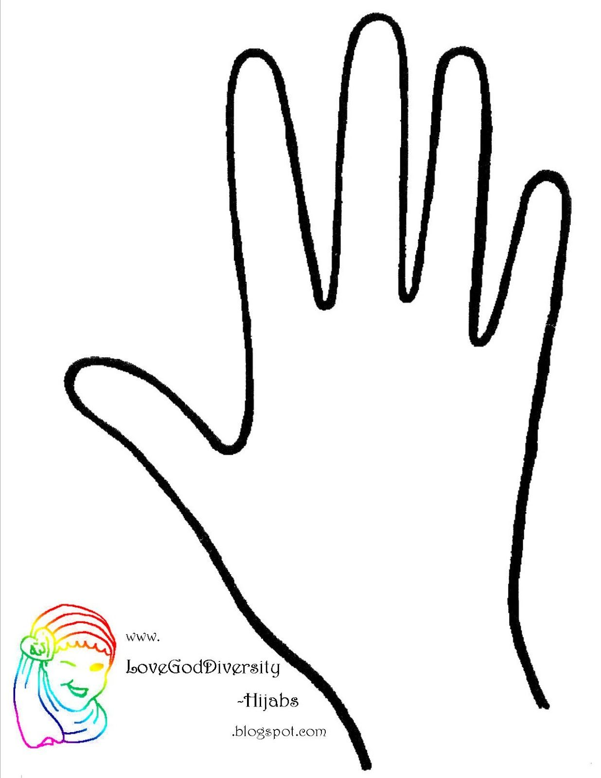 Download Free Hand Template