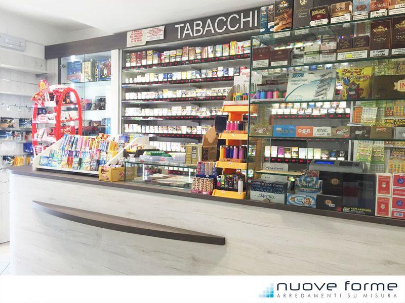Arredamento Ricevitoria ~ Pin by nuove forme arredamenti su misura on tabaccherie arredo