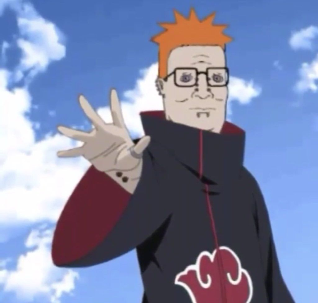 Hank Hill Will Be The Next Hokage Lol I Love Whoever Did This