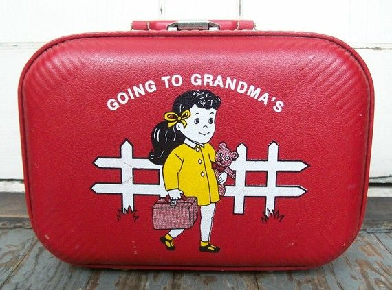 I had (and adored!) this suitcase when I was a wee lass.