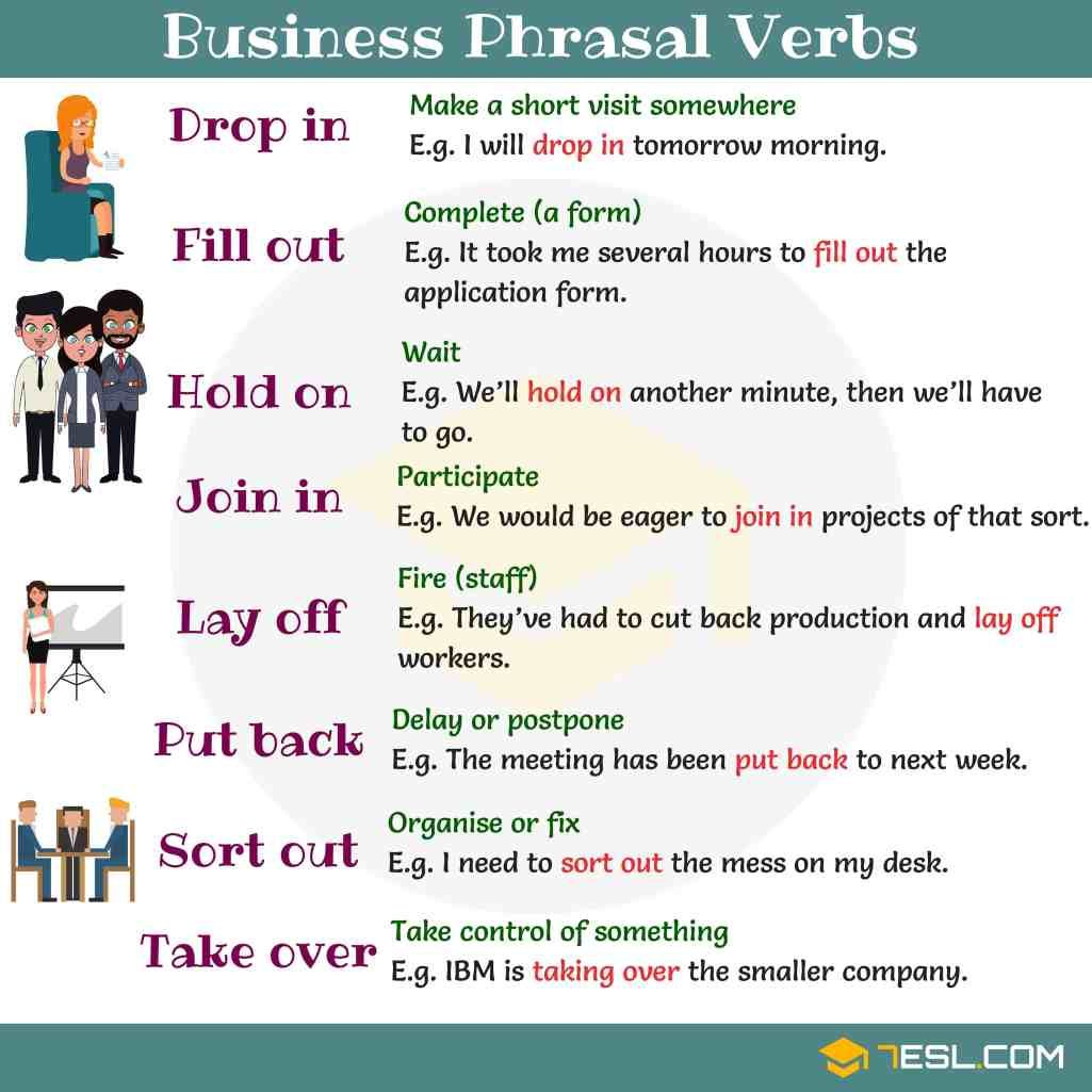 Easy Ways To Learn Phrasal Verbs In English Eslbuzz Learning English English Verbs Learn English English Phrases [ 1025 x 1025 Pixel ]