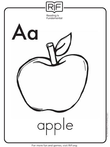 Alphabet Coloring Sheets Free