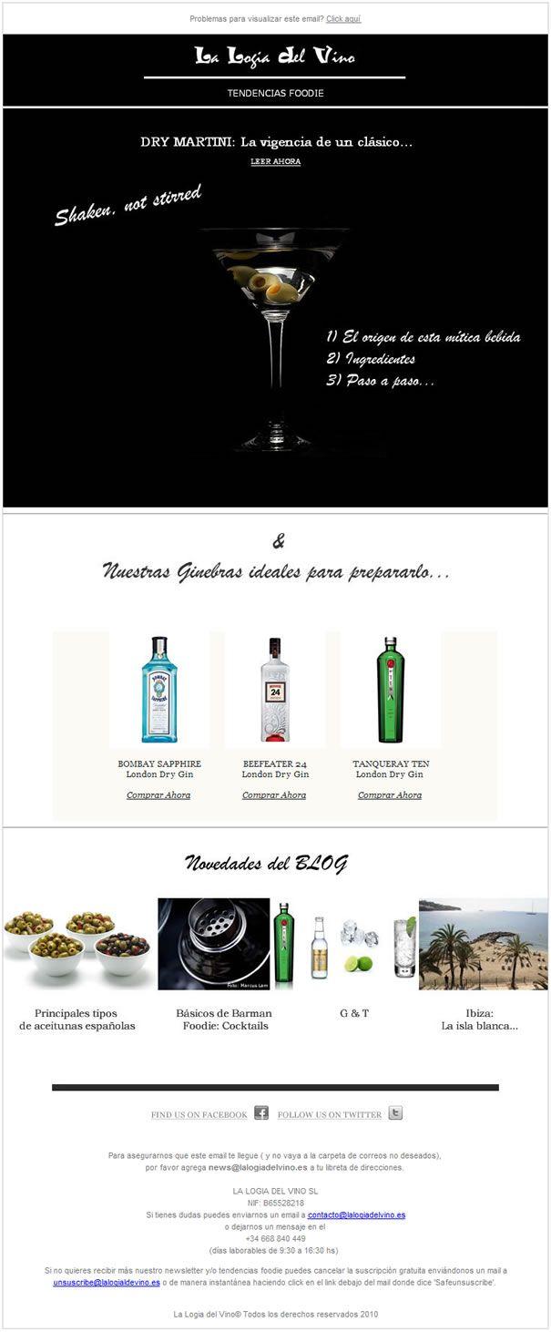 Dry Martini: La vigencia de un clásico...