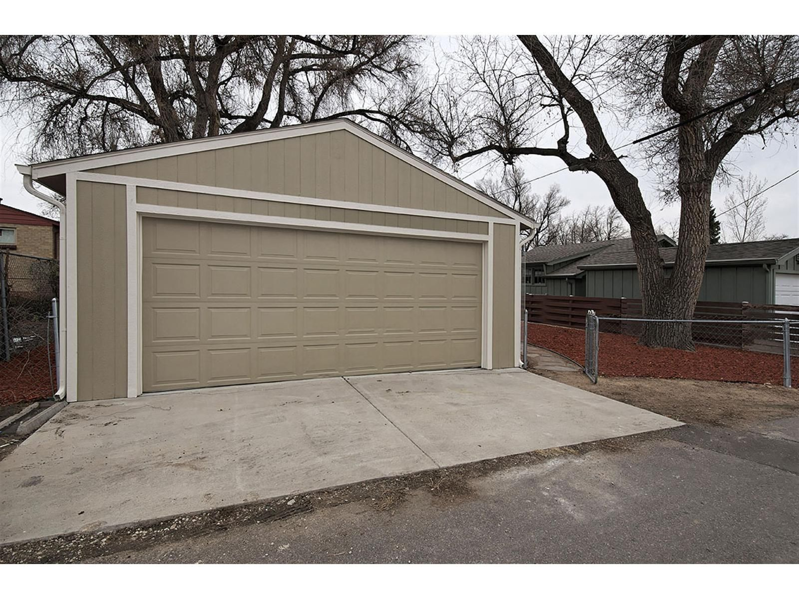 Stand Alone 2 Car Garage For Extra Storage Space Gray