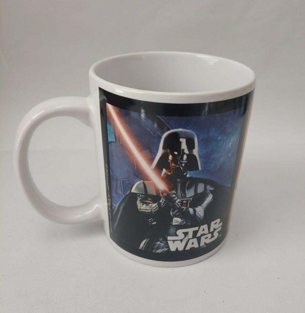 Star Wars Mug Han Solo Boba Fett Storm Tropper Darth Vader Combat Galerie In 2020 Star Wars Mugs Boba Boba Fett