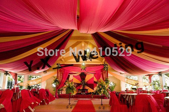 cloth canopy decoration - Google Search