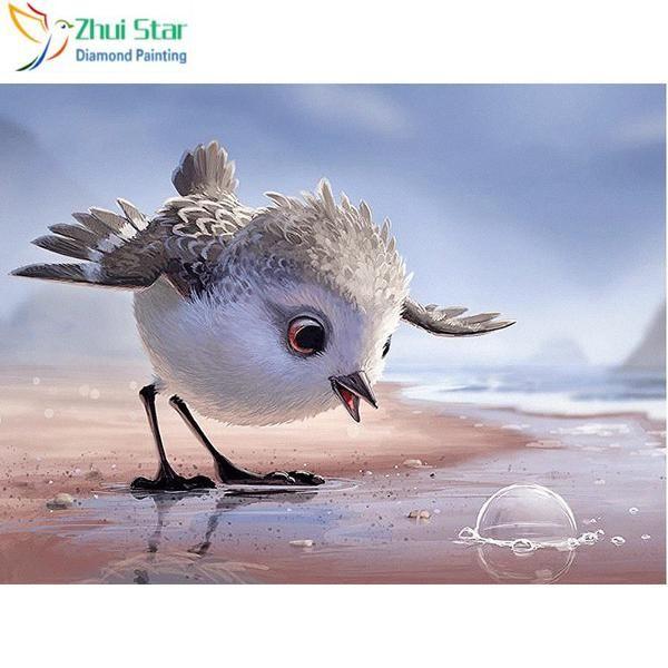 5D Diamond Painting Bird and the Bubble Kit   Diamond ...