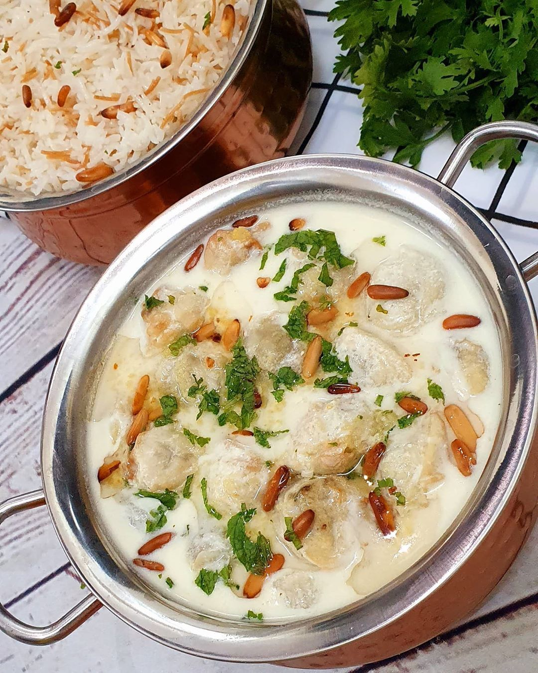 36 Likes 6 Comments Ayah Alhafez Chef Kitchen 86 On Instagram شيشبرك تعتبرأكلة الشيشبرك من الأكلات الشرقية القديمة والعريقة و Yummy Food Food Chowder