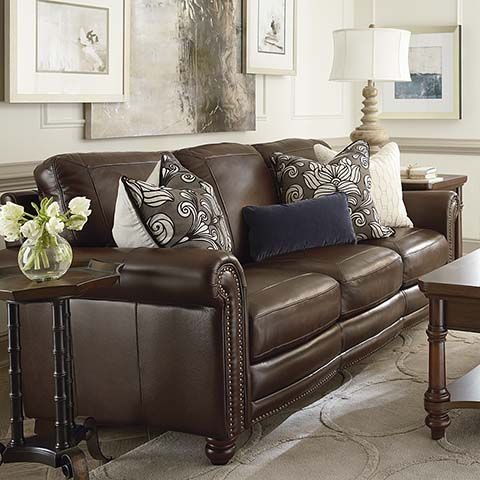 Missing Product Brown Couch Living Room Brown Leather