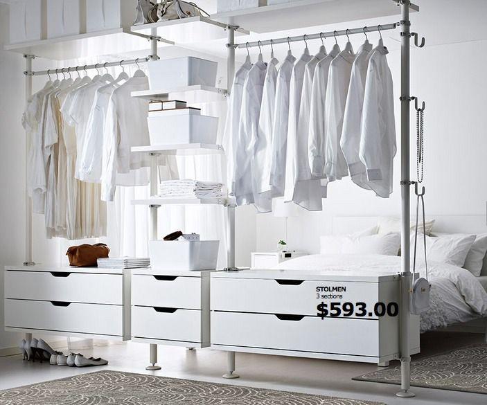 Ikea Hacks For Wardrobe And Makeup Organization Bedroom Furniture Beds Ikea Bedroom Trendy Home