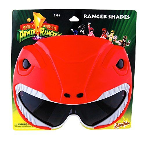 Sun-Staches H2W Officially Licensed Pink Power Rangers Sunstaches Sunglasses 4pkBsWZ