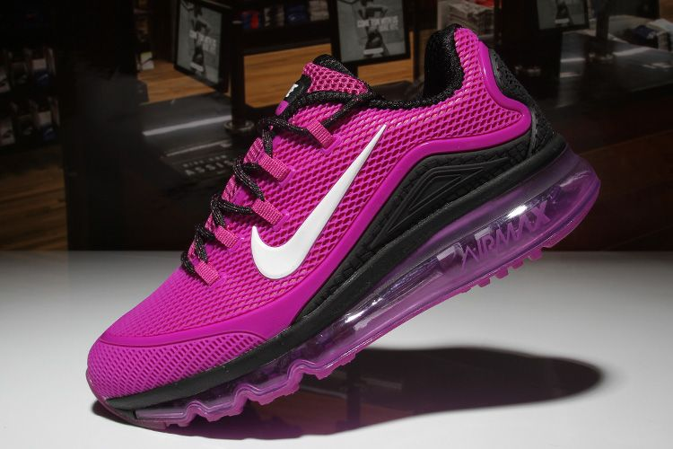 Woman's Nike Air Max 2018 Elite KPU TPU Shoes Purple/Black [1-1710AXMW-9] -  $79.00