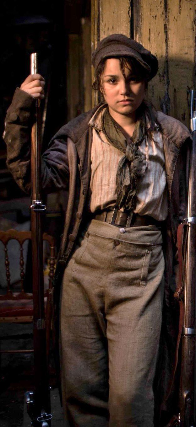 samantha barks as 201ponine in les mis233rables 2012