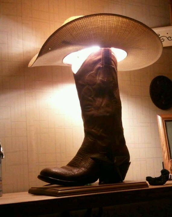 Cowboy Boot Lamp Cowboy Boots Cowboy Lamp Horse Decor