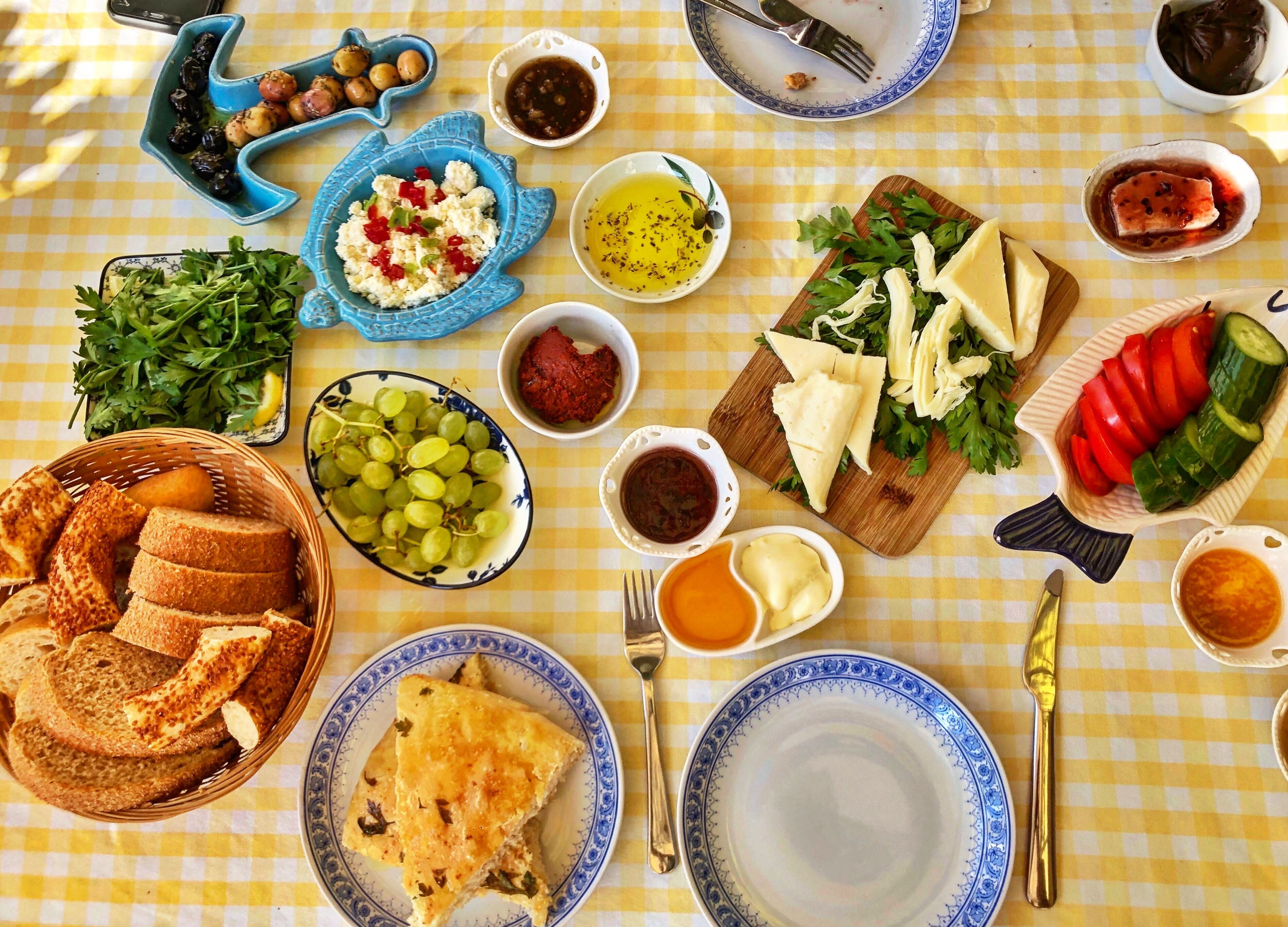 Turkish breakfast #turkishbreakfast Turkish breakfast #turkishbreakfast