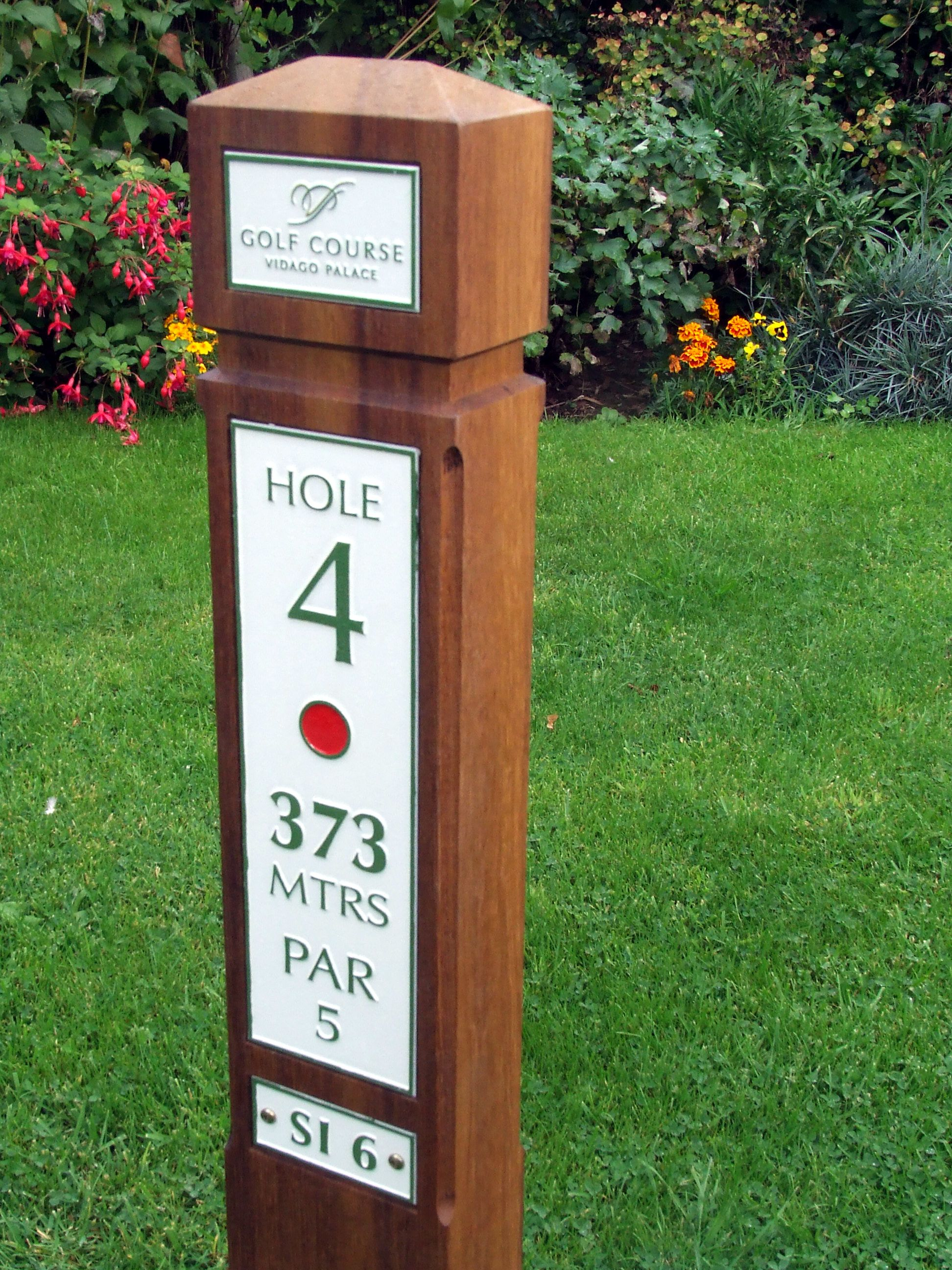 Disc Golf Tee Signs - Tee Sign Templates  |Frisbee Golf Sign