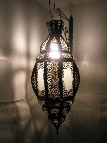 Hanging Moroccan Lantern From Badia Design