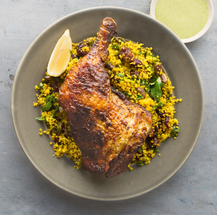Wanna try this herbed yoghurt chicken leg? We are giving