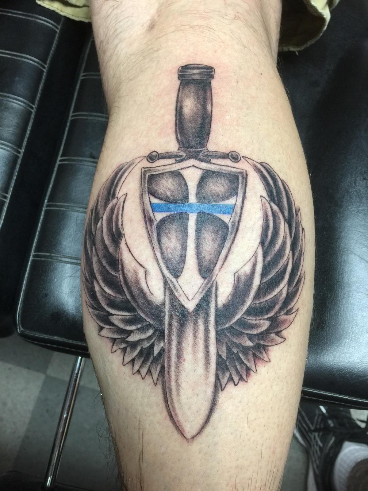 211f945e1 Saint Michael Tattoo in st. michael police tattoo - google search … |  pinteres…