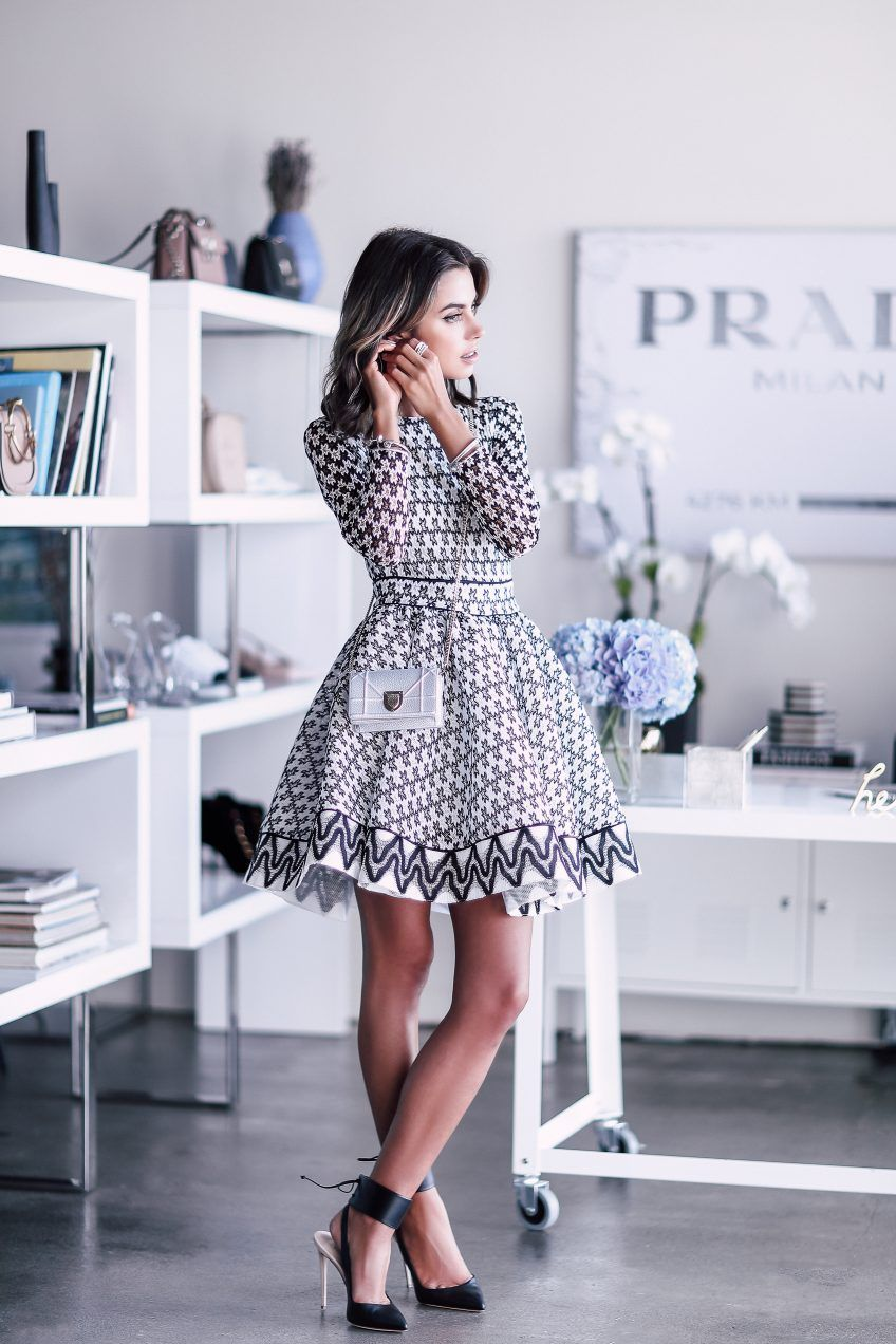 5 Valuable Lessons I Learned After I Started VivaLuxury  VivaLuxury Pretty puffy dresses are my favorite  this black and white one I wore is an absolute dream Such a perf...