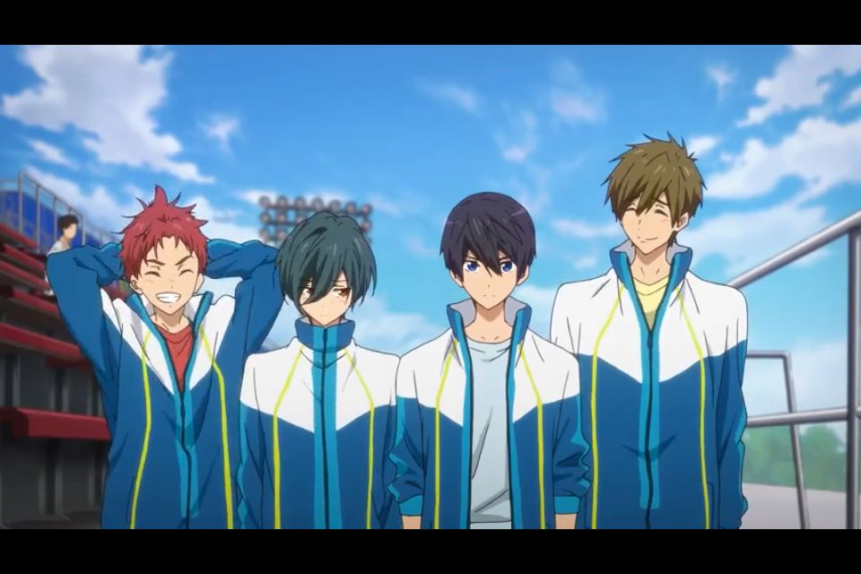 Free! Starting days high speed