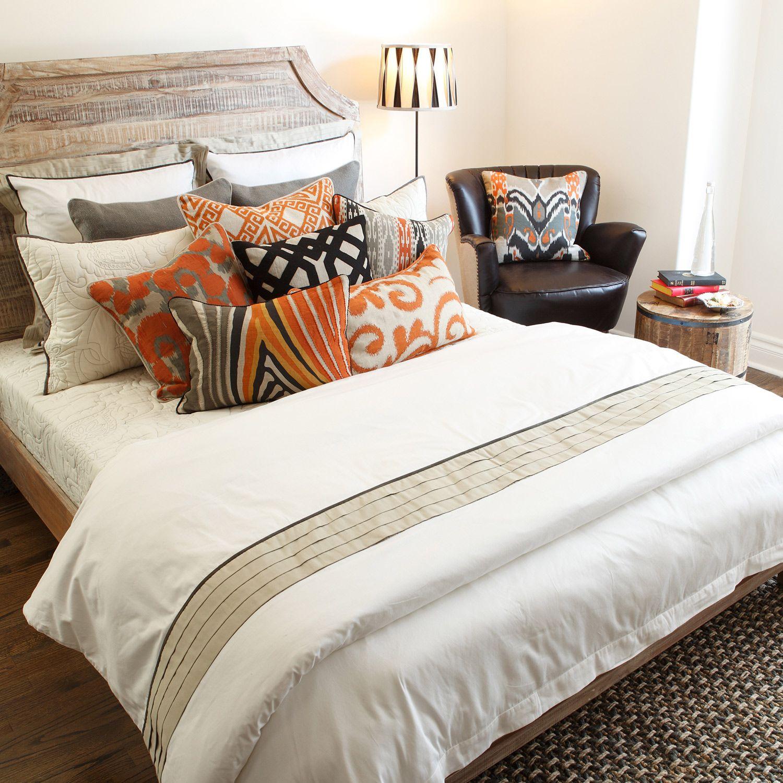 Tux Duvet Cover or Set Zinc_Door Modern rustic bedroom