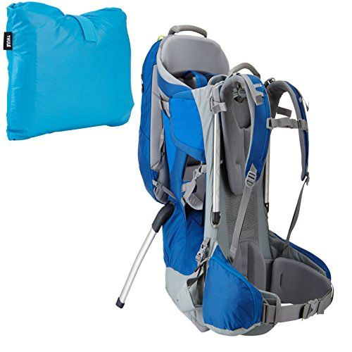 40ace3d3e6f Thule Sapling Elite Child Carrier SlateCobalt w Rain Cover    You can get  more details by clicking on the image.