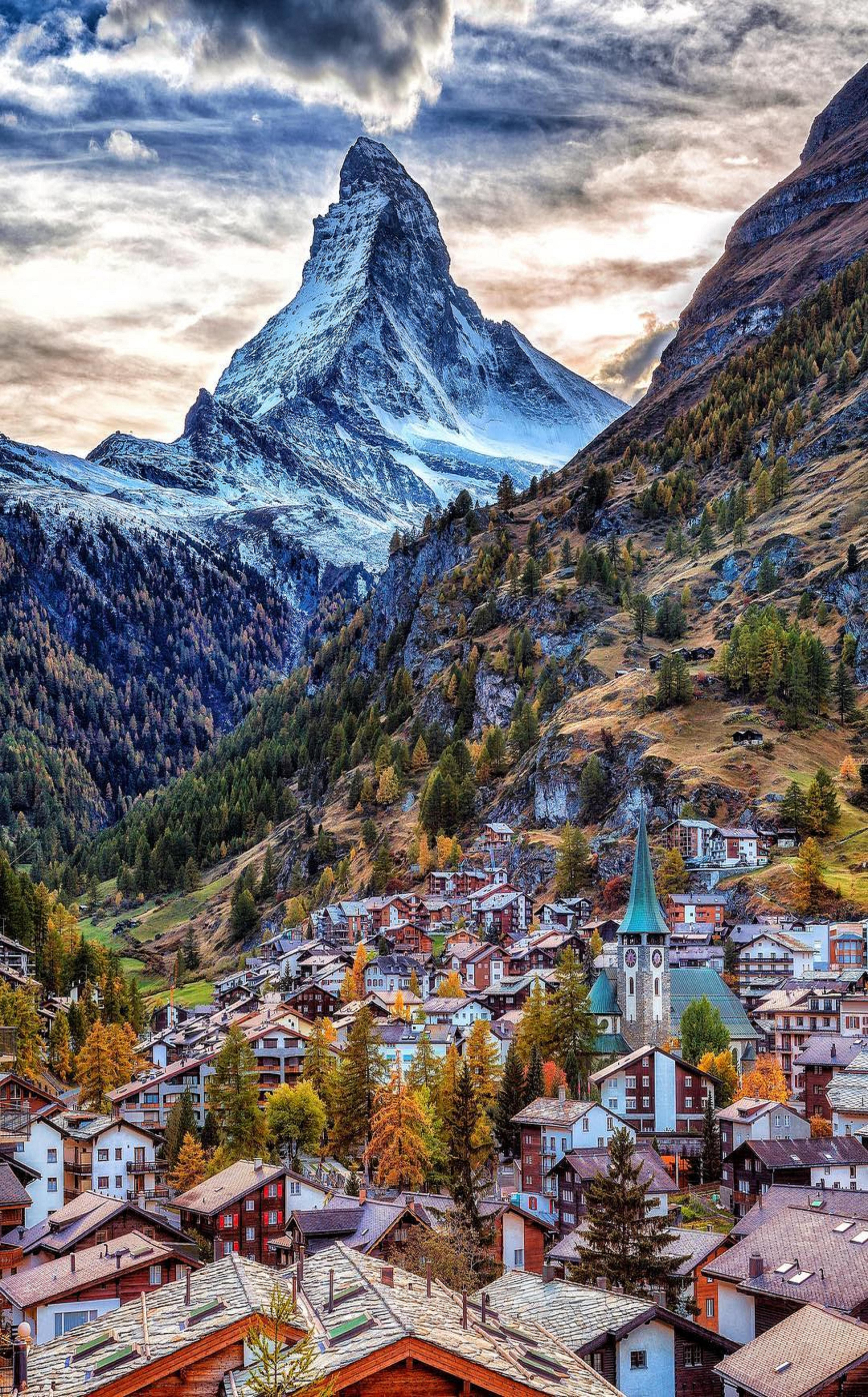 Zermatt,Switzerland Beautiful places to visit, Places to