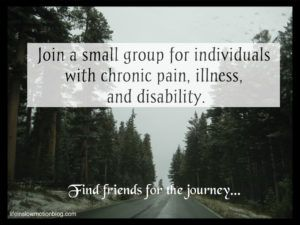 Small Groups for Chronic Pain, Illness, and Disability
