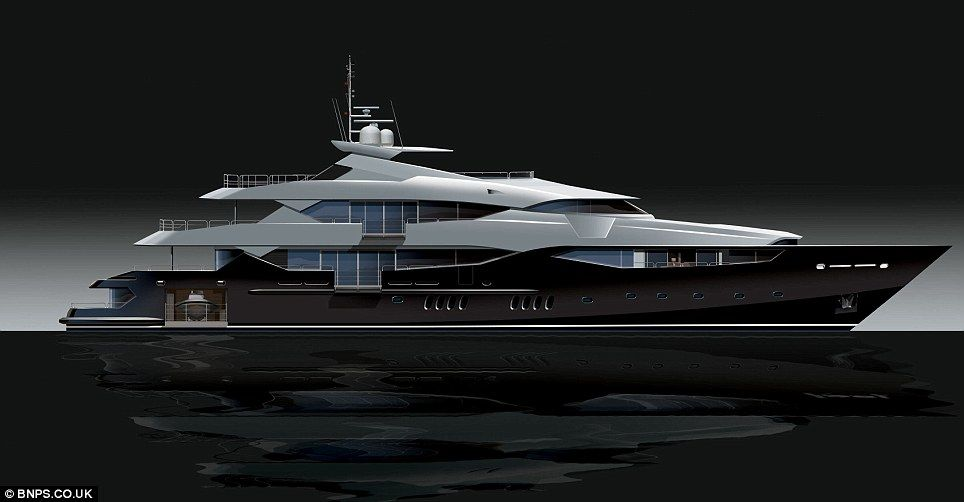 The Super Yacht So Big It S Almost A Ship First Look At Former F1