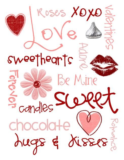 Valentine's Printable Valentines Day Pinterest Holidays Fonts Extraordinary Quotes Of Valentine Day