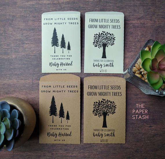 PRINTABLE, Seed Packets, From little Seeds, Grow Mighty ...