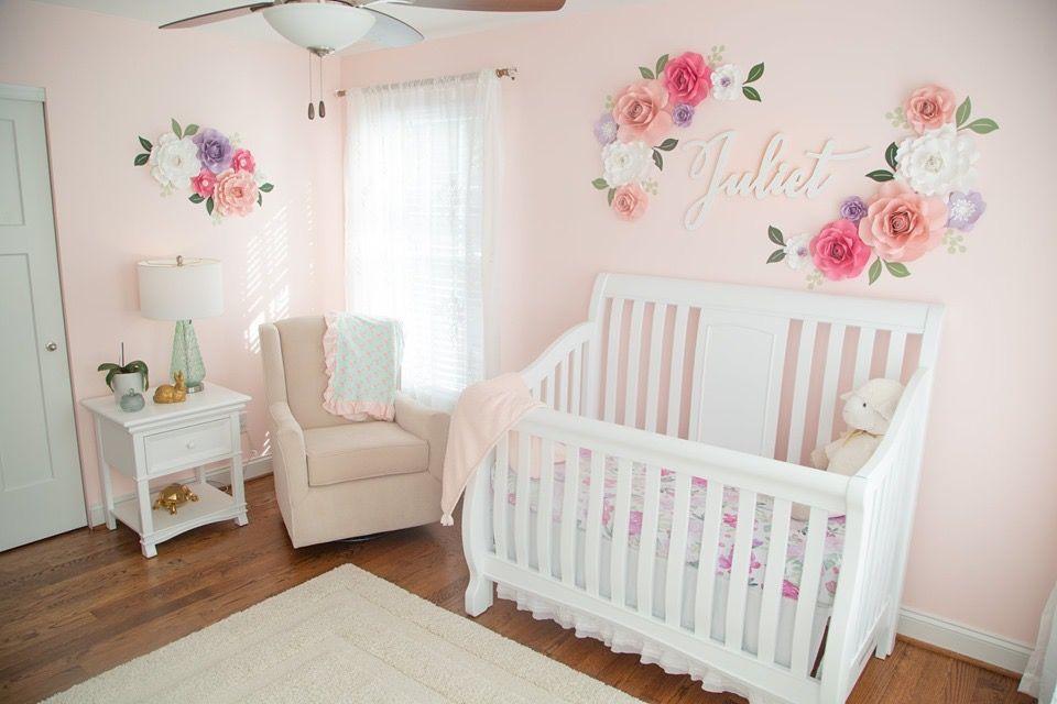 Flower Garden Nursery Project Nursery Baby Girl Nursery Pink