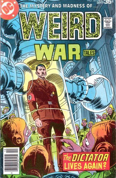Weird War Tales #58 (1971 series) - cover by Joe Kubert